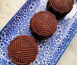 巧克力月饼(巧克力酱版)