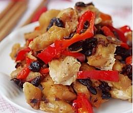 营养晚餐:无火豉椒鸡的做法