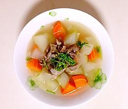 排骨冬瓜汤(高压锅)的做法