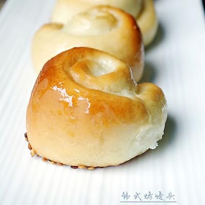 【曾经风靡一时的蜂蜜小餐包】韩式烤馒头