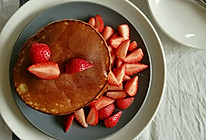 低温发酵法做草莓pancake的做法