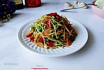 蒜辣豉油黑豆苗的做法