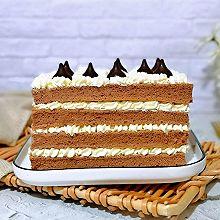 #我们约饭吧#巧克力奶油蛋糕