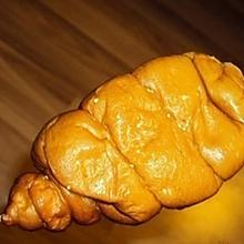 不用烤箱:怀旧鸡腿面包/80后火腿肠油炸面包