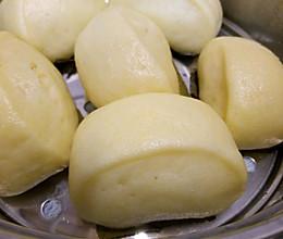 奶香玉米馒头的做法
