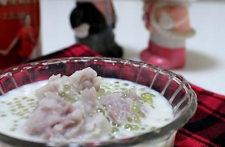 香芋牛奶西米露的做法
