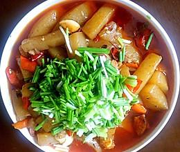 香辣魔芋豆腐的做法