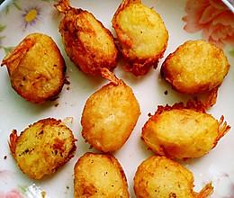 黄金土豆虾球#自己做更健康#的做法