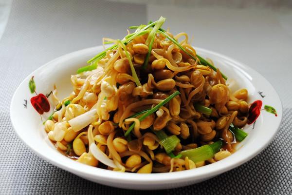 #菁选酱油试用之素炒黄豆芽的做法