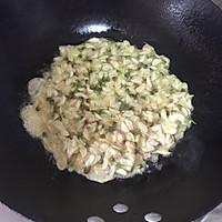 把美好吃进肚里—槐花炒鸡蛋的做法图解6