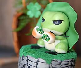 旅行青蛙-翻糖蛋糕做法,崽儿赶快回家的做法