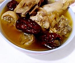 天麻红枣炖鸡的做法