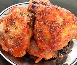 不用油炸的韩国炸鸡(空气炸锅)的做法