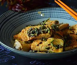 香椿烧豆腐:胖太太心理的做法