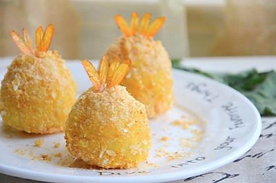 健康烤箱版:凤尾虾球