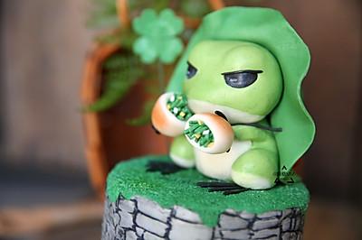 旅行青蛙-翻糖蛋糕做法,崽儿赶快回家