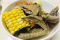 山药萝卜玉米鸽子汤的做法