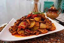 五花肉酱炒土豆片的做法