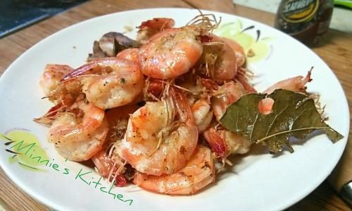 『低脂瘦身』香煎基围虾的做法