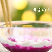 宝宝辅食食谱 火龙果椰蓉奶冻的做法图解5