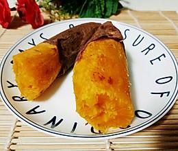烤地瓜#烤箱版#的做法