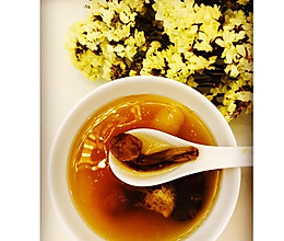 竹荪干贝菌菇汤的做法
