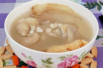 沙参玉竹薏米煲猪手