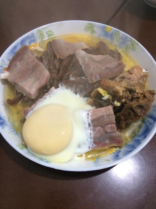 腌肉蒸蛋的做法