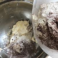 #父亲节,给老爸做道菜#巧克力椰子曲奇的做法图解6