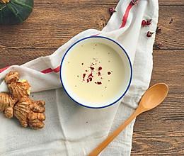 寒冬天必备--姜撞奶的做法