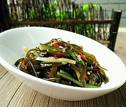 凉拌黄瓜海带丝的做法