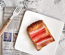 3分钟早餐—蟹棒芝士吐司的做法
