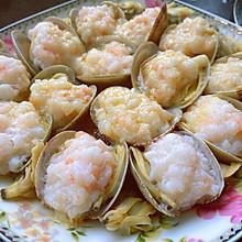 花蛤蒸虾滑