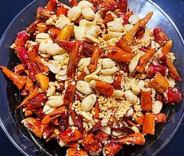 香脆花生辣椒的做法