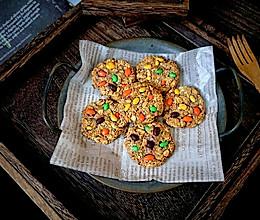 #秋天怎么吃#燕麦饼干的做法