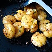 橄榄油香煎小土豆的做法图解10