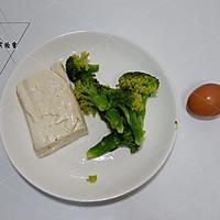 西兰花豆腐肠#10分钟早餐大挑战#的做法图解1