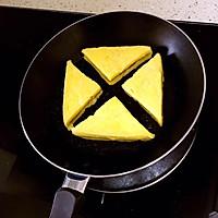 快手早餐   花生酱西多士的做法图解5