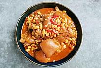 超解馋的猪蹄焖黄豆的做法