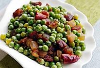 【腊肉季】腊肉豌豆丁的做法