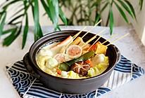 #换着花样吃早餐#日式豆乳小火锅的做法
