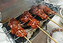 糖粉小肉串和自制小烤炉