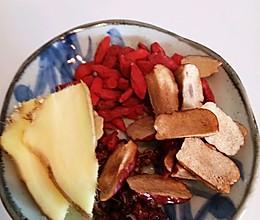 生姜红枣枸杞茶的做法