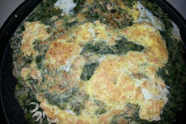 韭菜烘蛋饼的做法