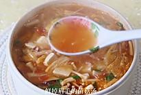 低脂低卡的番茄菌菇白菜汤❗️好喝不怕胖的做法
