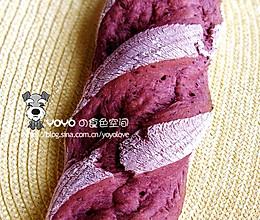 100%桑葚果肉欧式面包的做法