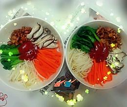 韩国拌饭(无石锅)的做法