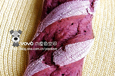 100%桑葚果肉欧式面包