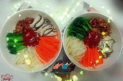 韩国拌饭(无石锅)