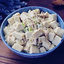 肉末葱烧豆腐